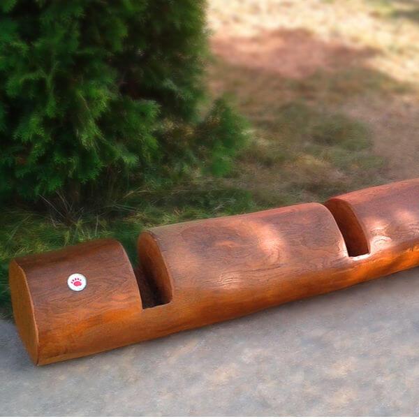 Stojany na kola (s dřevem)